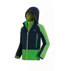 Regatta Hydrate III 3In1 Jacket Kids Fairway Green/Navy